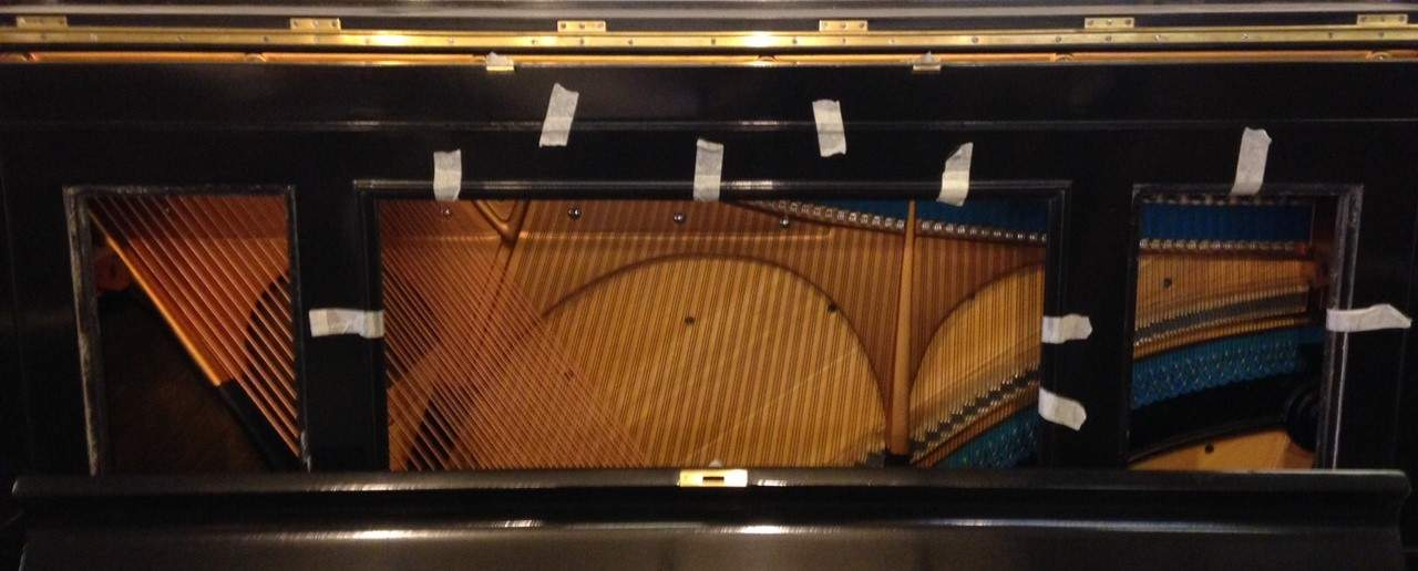 Upright Piano Strings & Action, Photo for Upright Piano Valuation