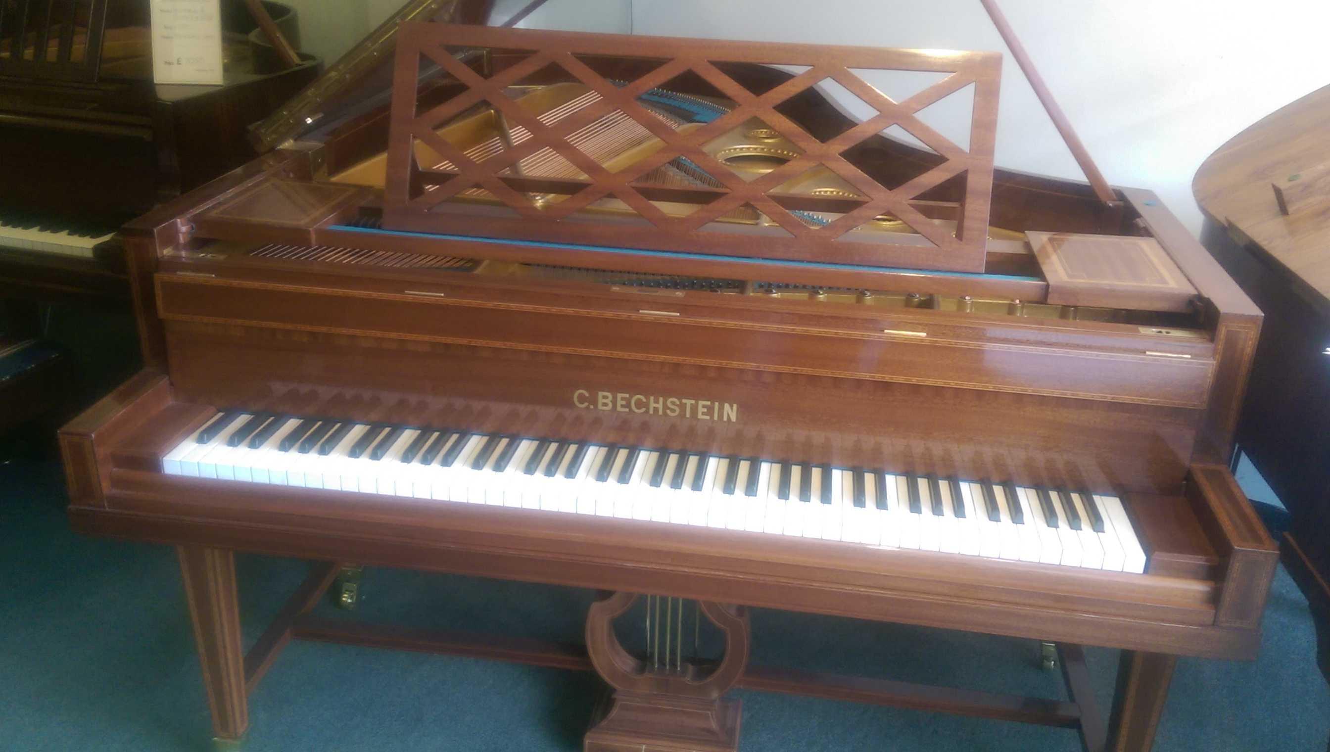 Bechstein Grand Piano Sheraton Style