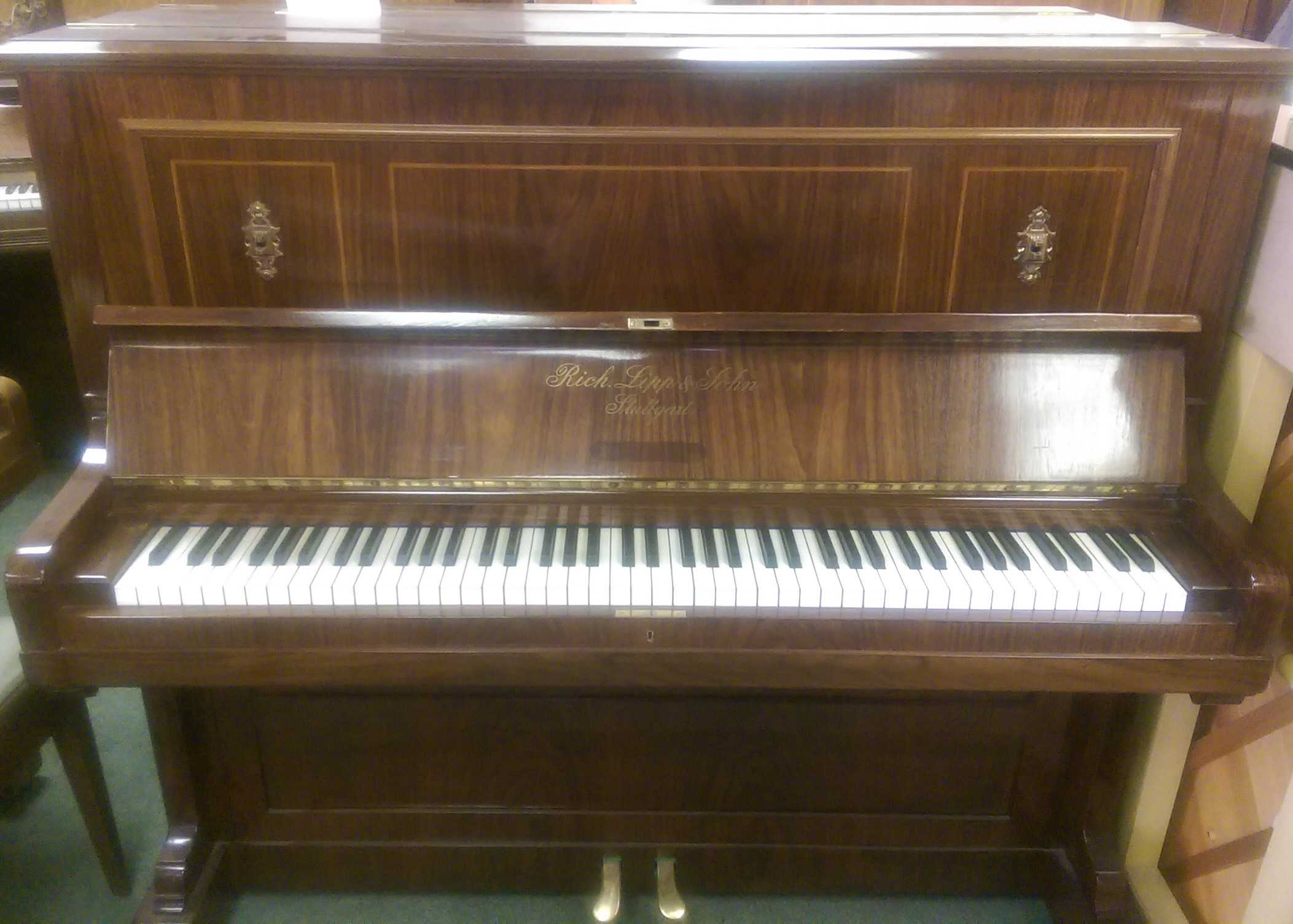 Richard Lipp Upright Piano