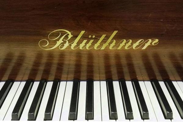 Blüthner Piano Keyboard