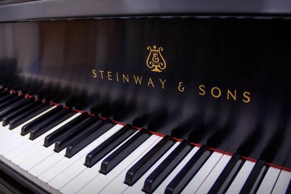 Steinway Piano Keyboard